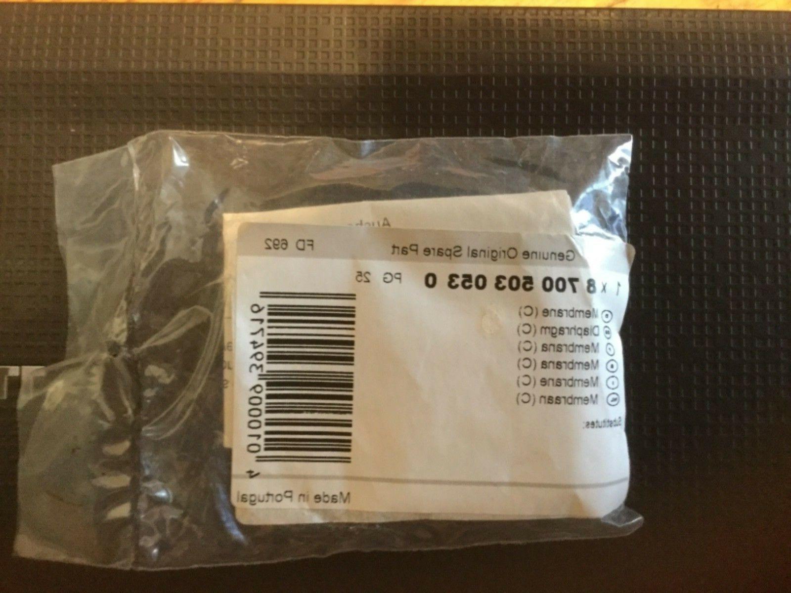 Bosch tankless Heater valve diaphragm 03053, 87005030530 For 125B