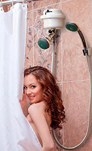 GARLAT Boccherini 110V Instant Hot Shower Heater Super Flexible Stainless Steel Rainfall Shower Head
