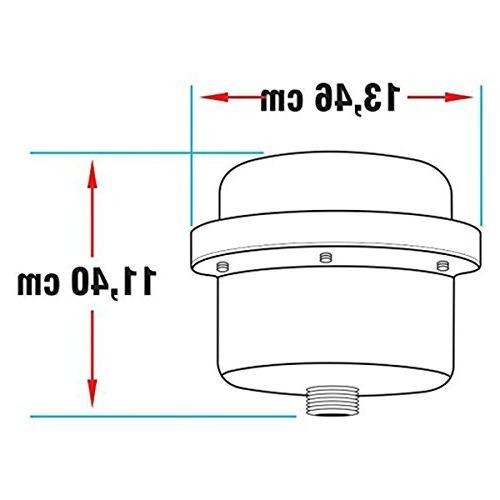 GARLAT 110V Electric Instant Heater Flexible Stainless Steel Rainfall Head