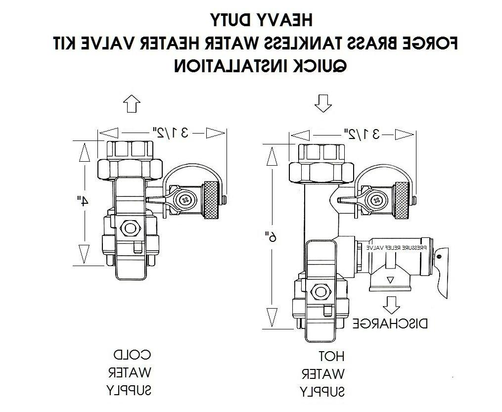 "Navien - 3/4"" Water Kit"