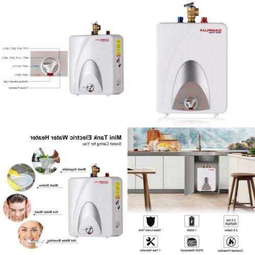 camplux me25 mini tank electric water heater