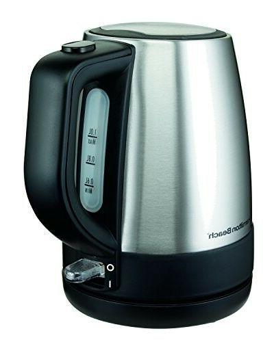 Water Kettle Fast Electric Tea Boiling Countertop Portable