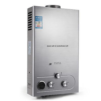 16L Water Heater Gas Boiler 4.3GPM Kit