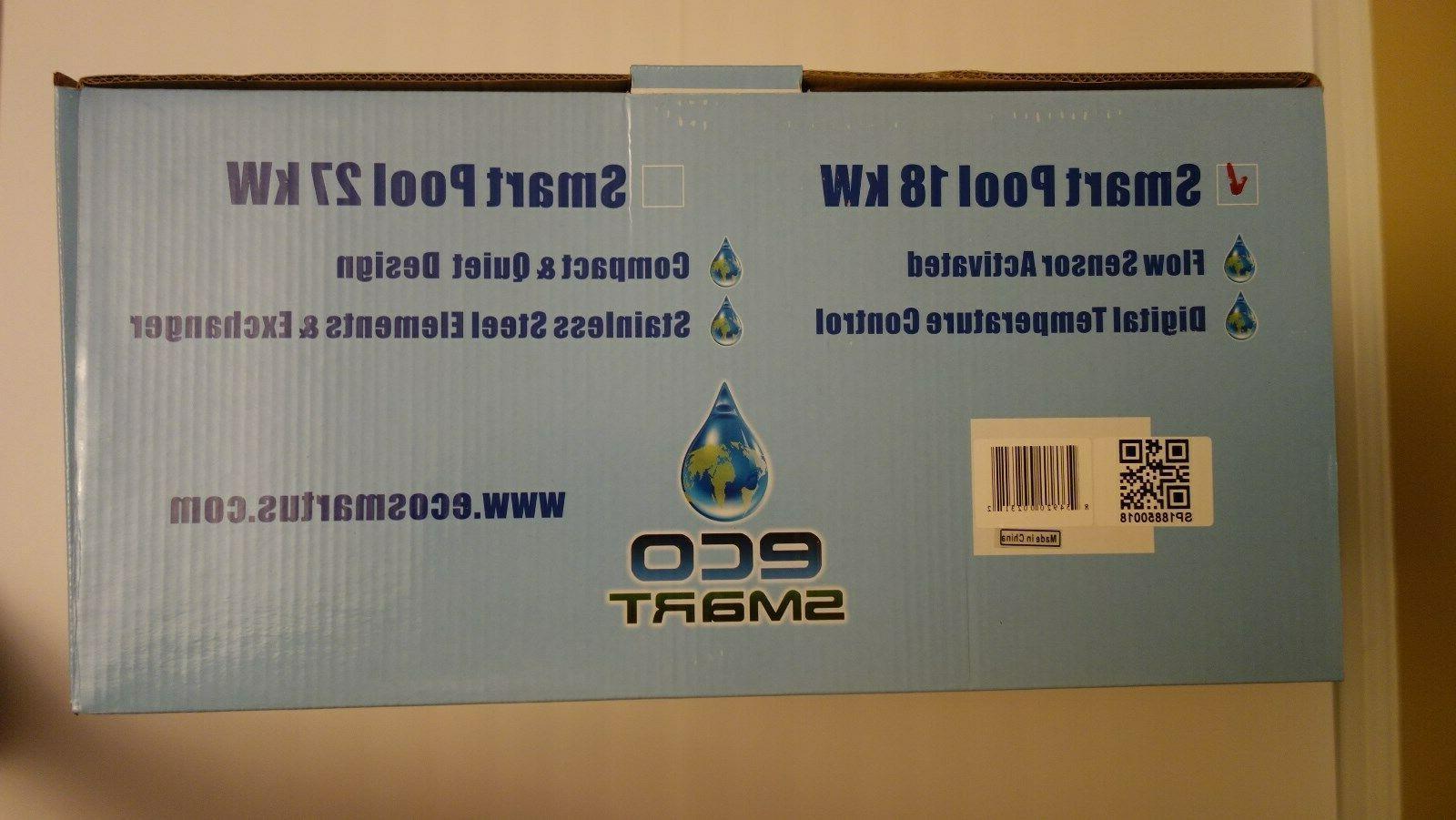 EcoSmart 240v Tankless Water Heater 61,000BTU