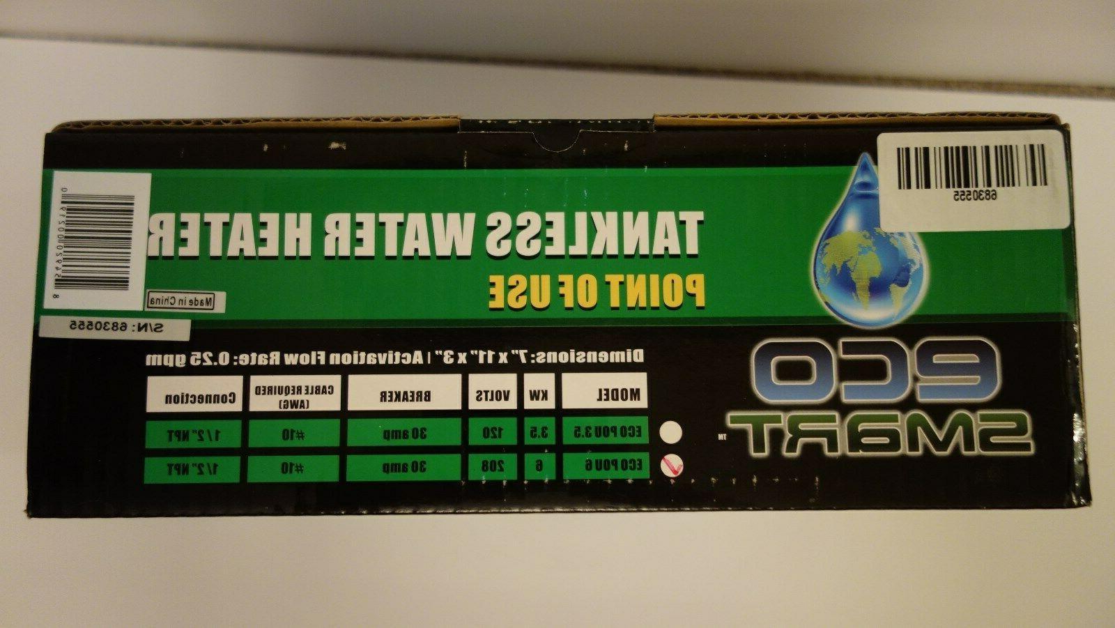 Sale! EcoSmart Electric 6kw Heater