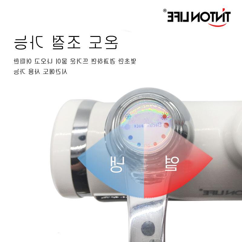 TINTON LIFE Electric <font><b>Heater</b></font> EU plug Digital Temperature Display 360 Degree Rotate Pipe