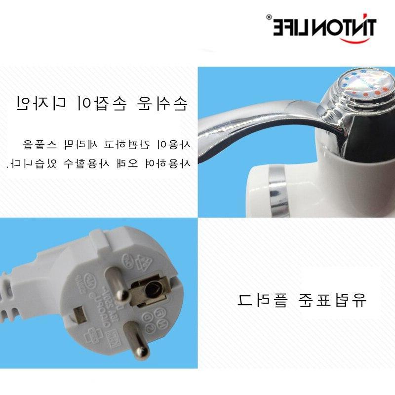 TINTON Electric <font><b>Water</b></font> <font><b>Heater</b></font> Digital Temperature Display 360