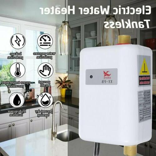 Electric Hot Water Kitchen Tap 3800W