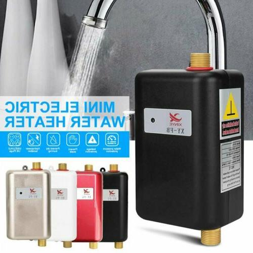 electric instant hot tankless water heater shower
