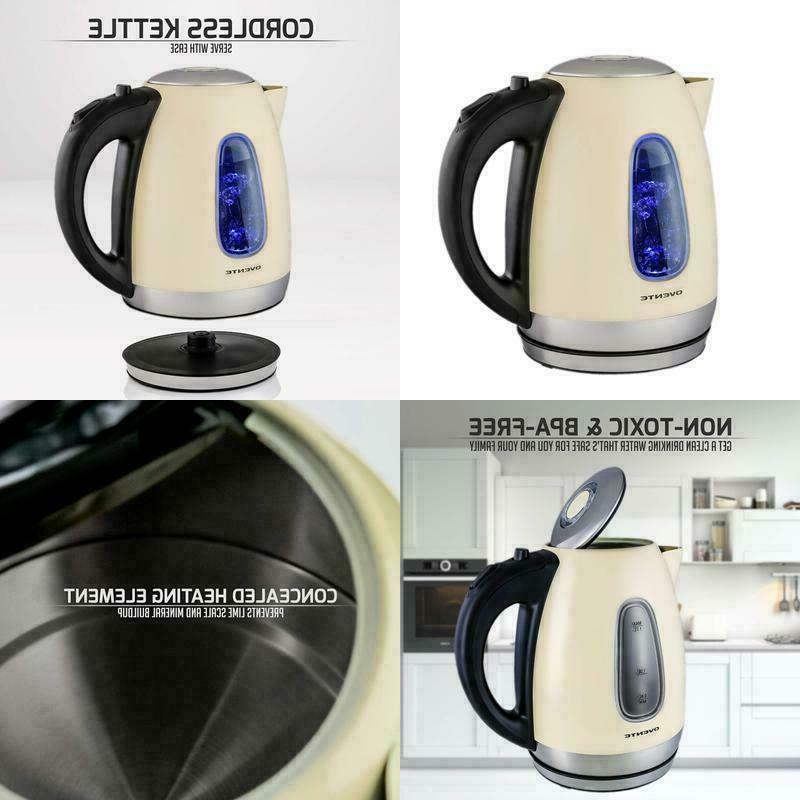 ks960bg electric kettle cordless tea and water