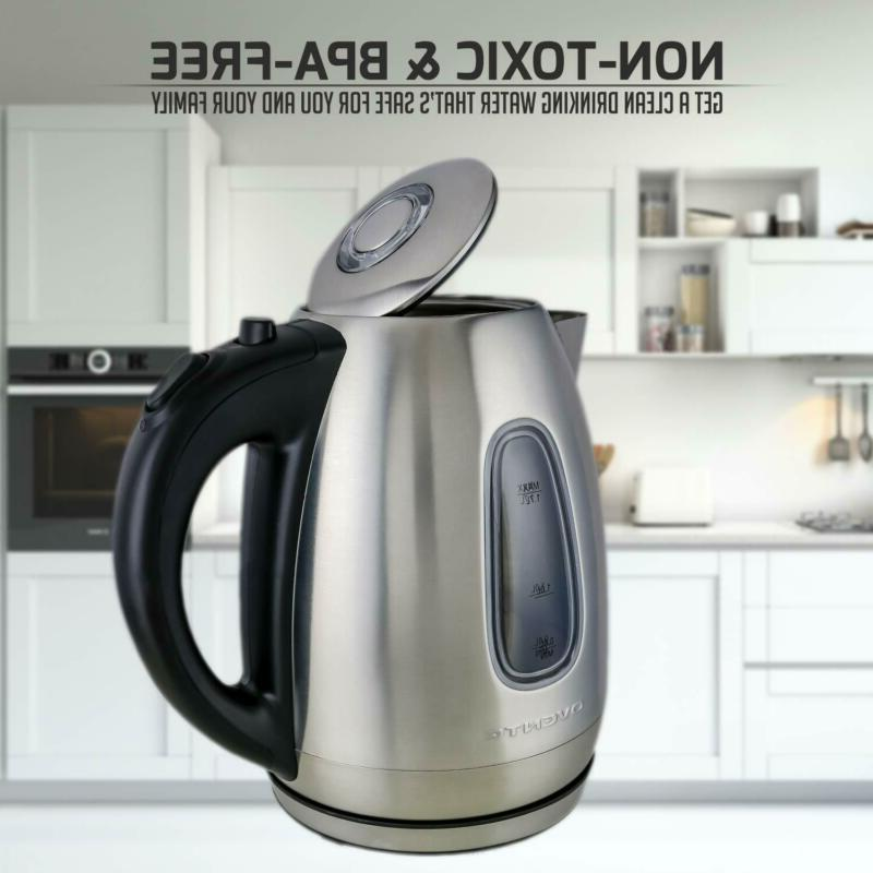 Ovente Kettle, Automatic Shut-Off Boil