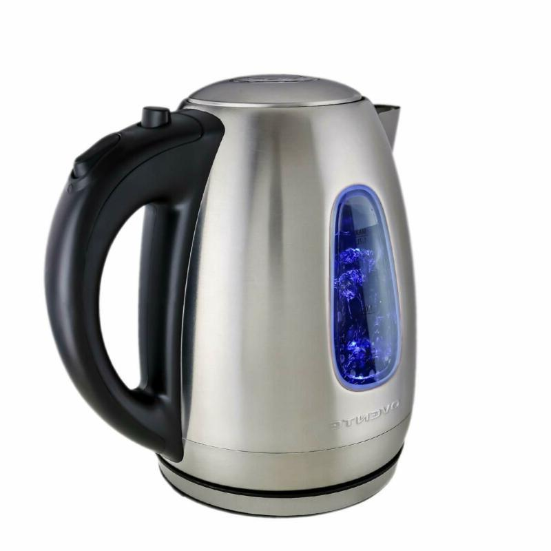 electric kettle cordless tea and water heater