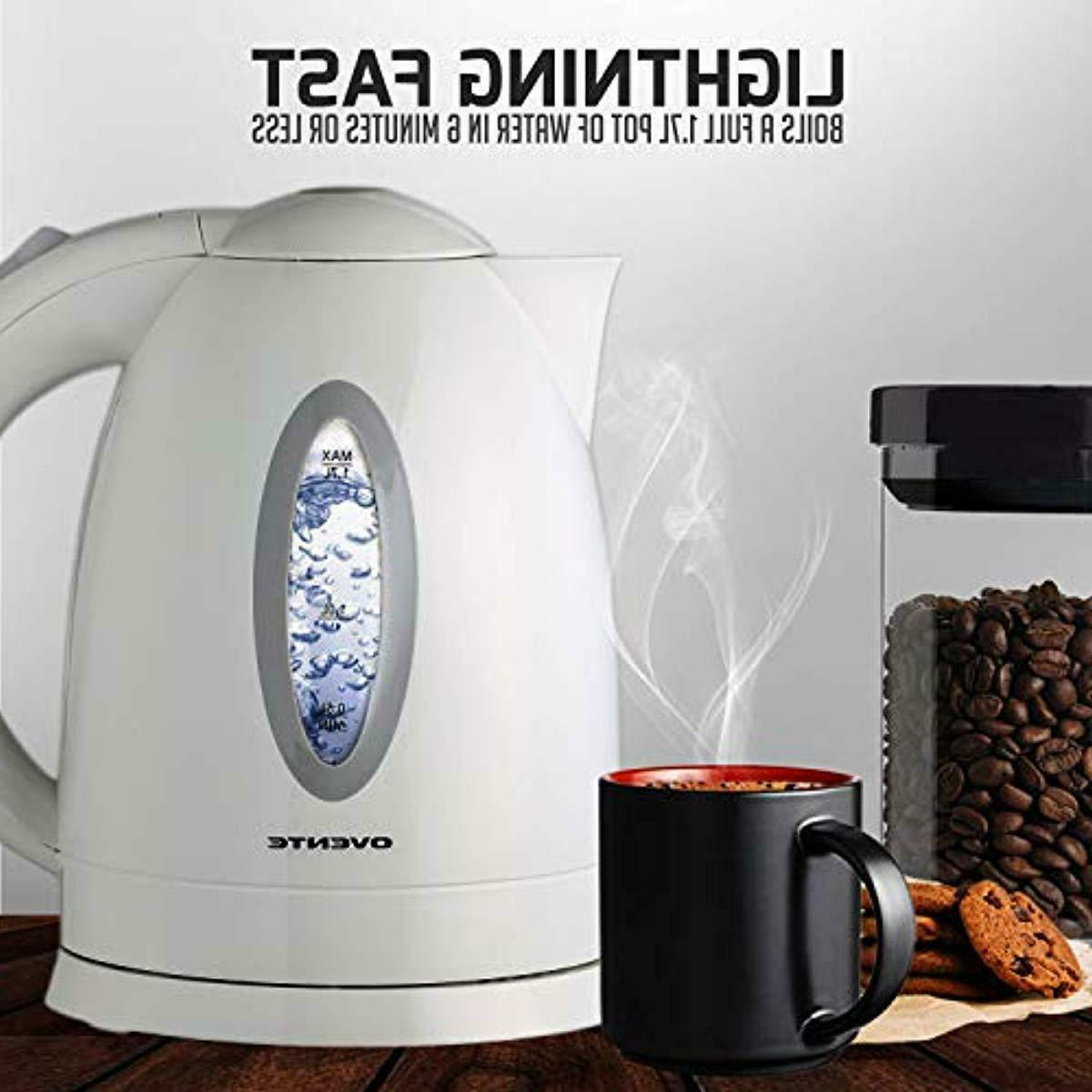 Electric Kettle Fast Kitchen Water Heater Boiler 1.7L