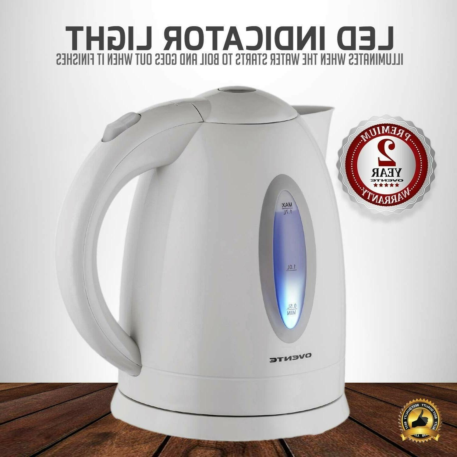 Electric Kettle Cordless Boiler Portable Fast