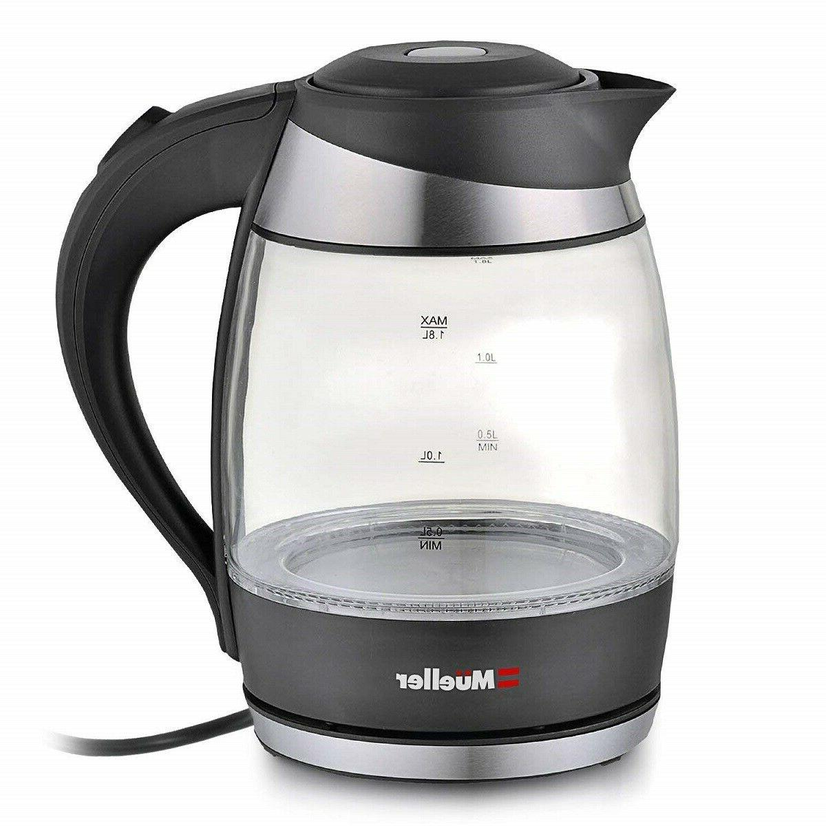 Electric Kettle Water with Boil Glass Tea