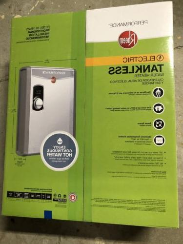 electric tankless water heater retex 18