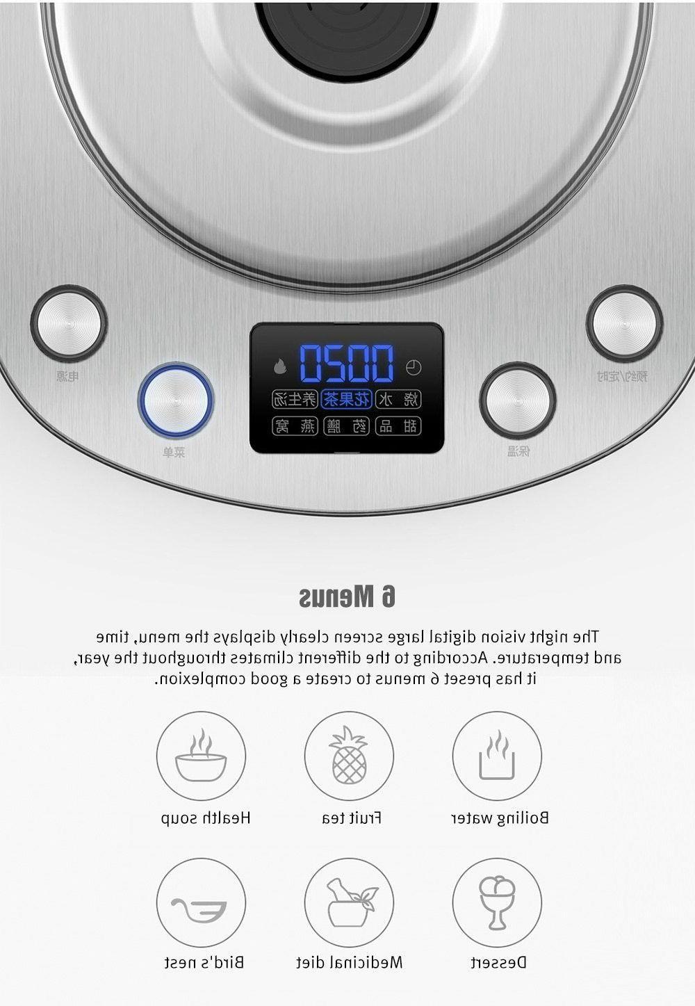 Electric Tea Kattle Litter Stainless Steel Water Heater Pot