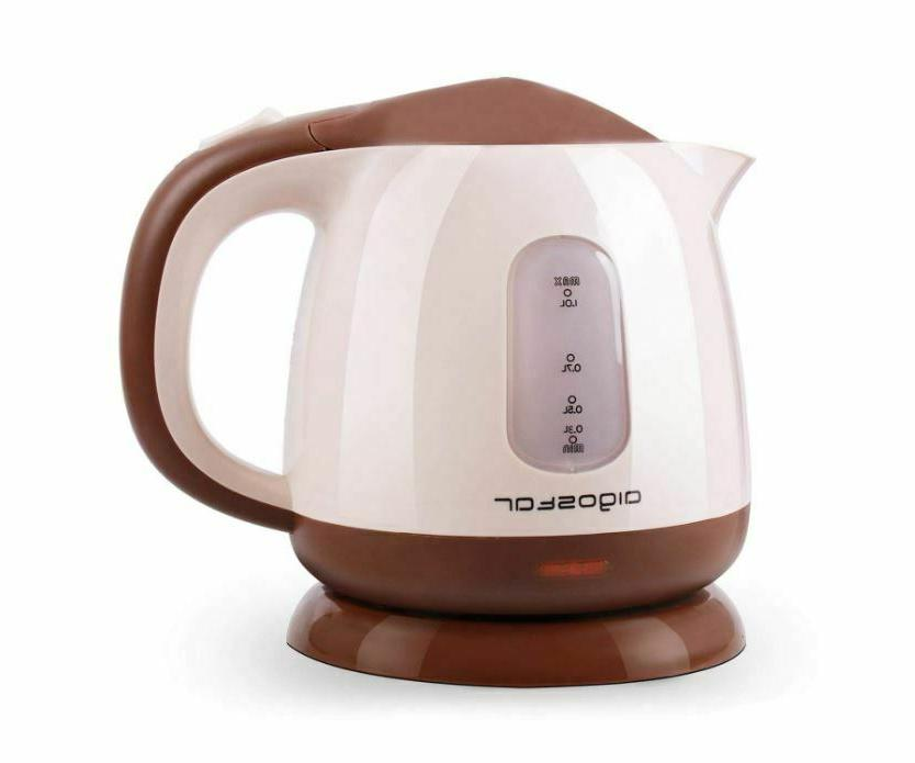 Electric Kettle L Boiler Hot Water 1100W White