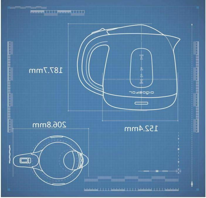 Electric Tea L Mini Tea Kitchen Boiler Hot 1100W