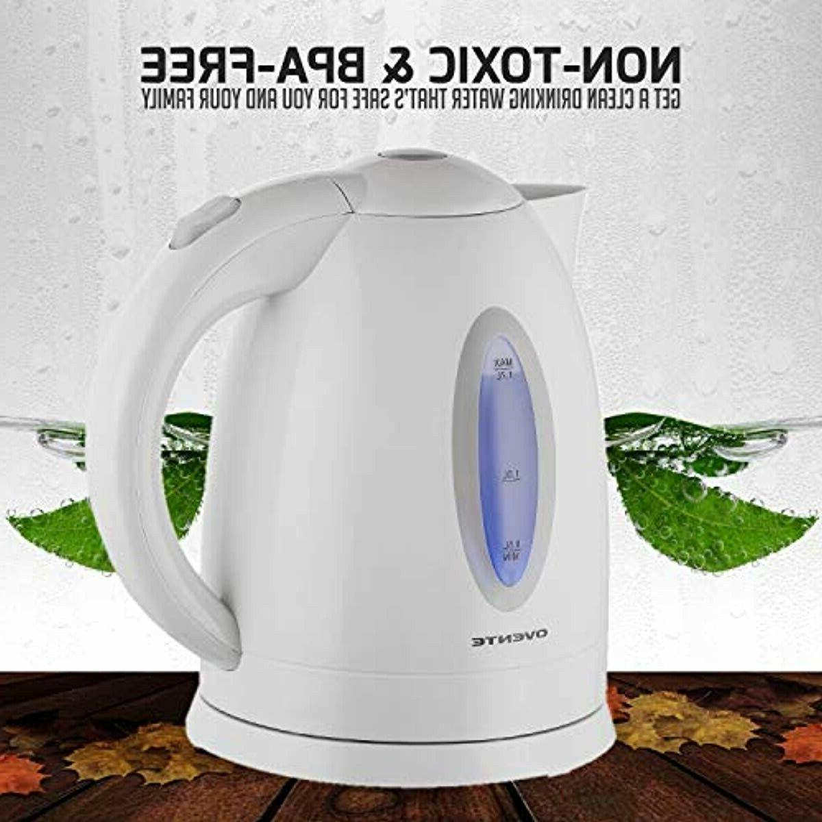 ELECTRIC KETTLE Fast Heating Kitchen Water 1.7 L