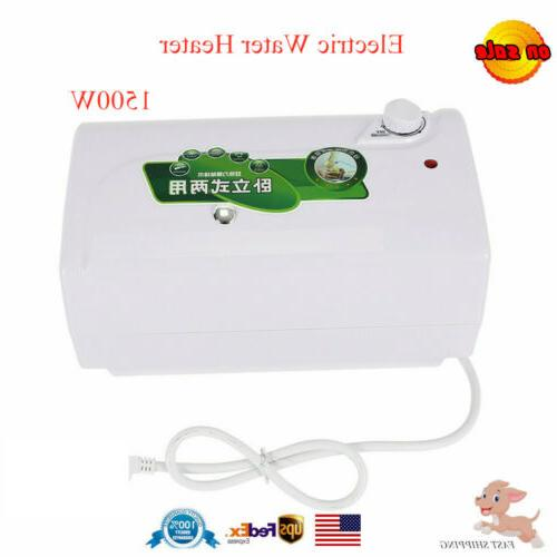 electric water heater set heating system