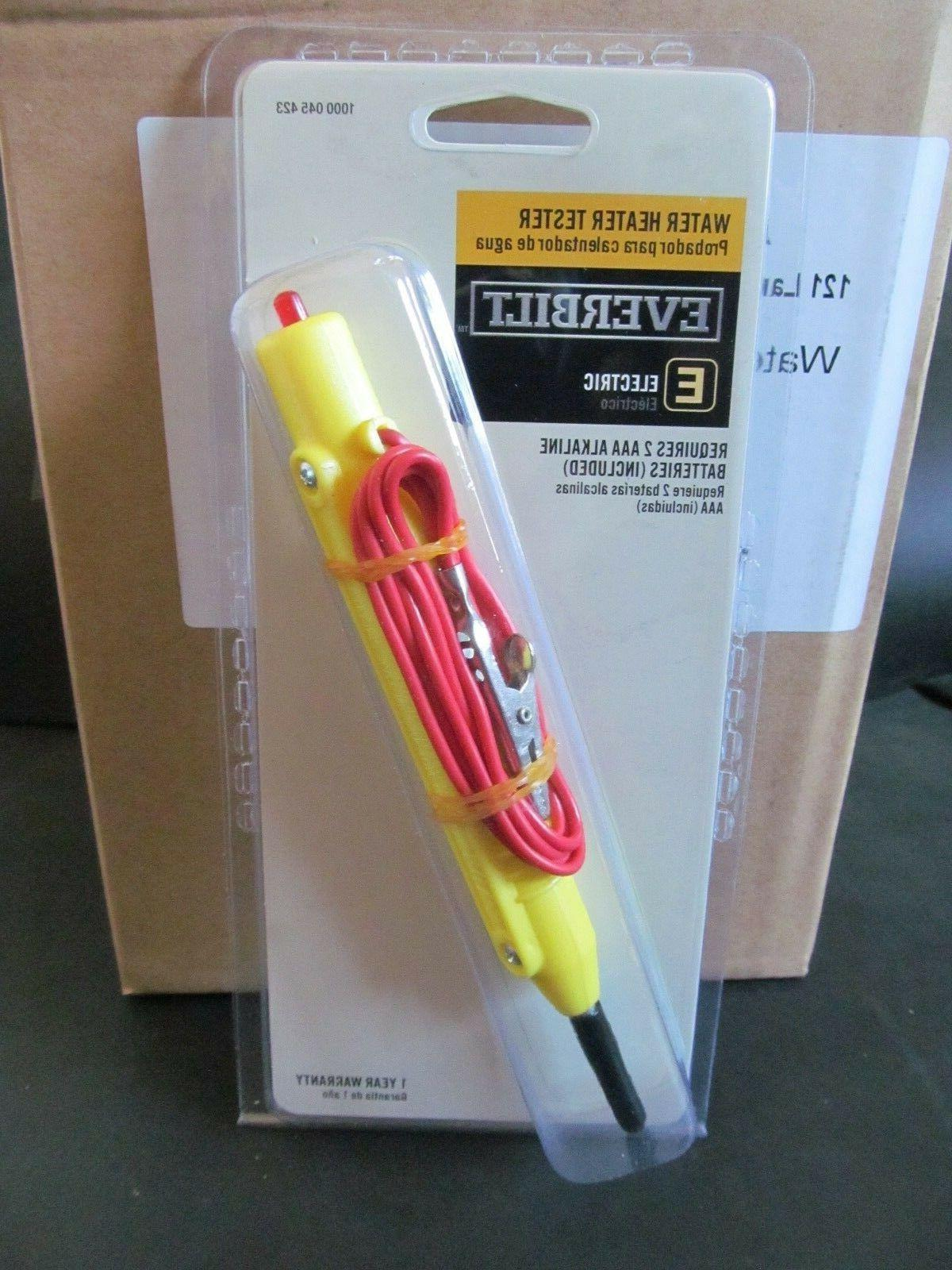 EVERBILT ELECTRIC WATER HEATER TESTER 1000 045 423 SPECIAL 2