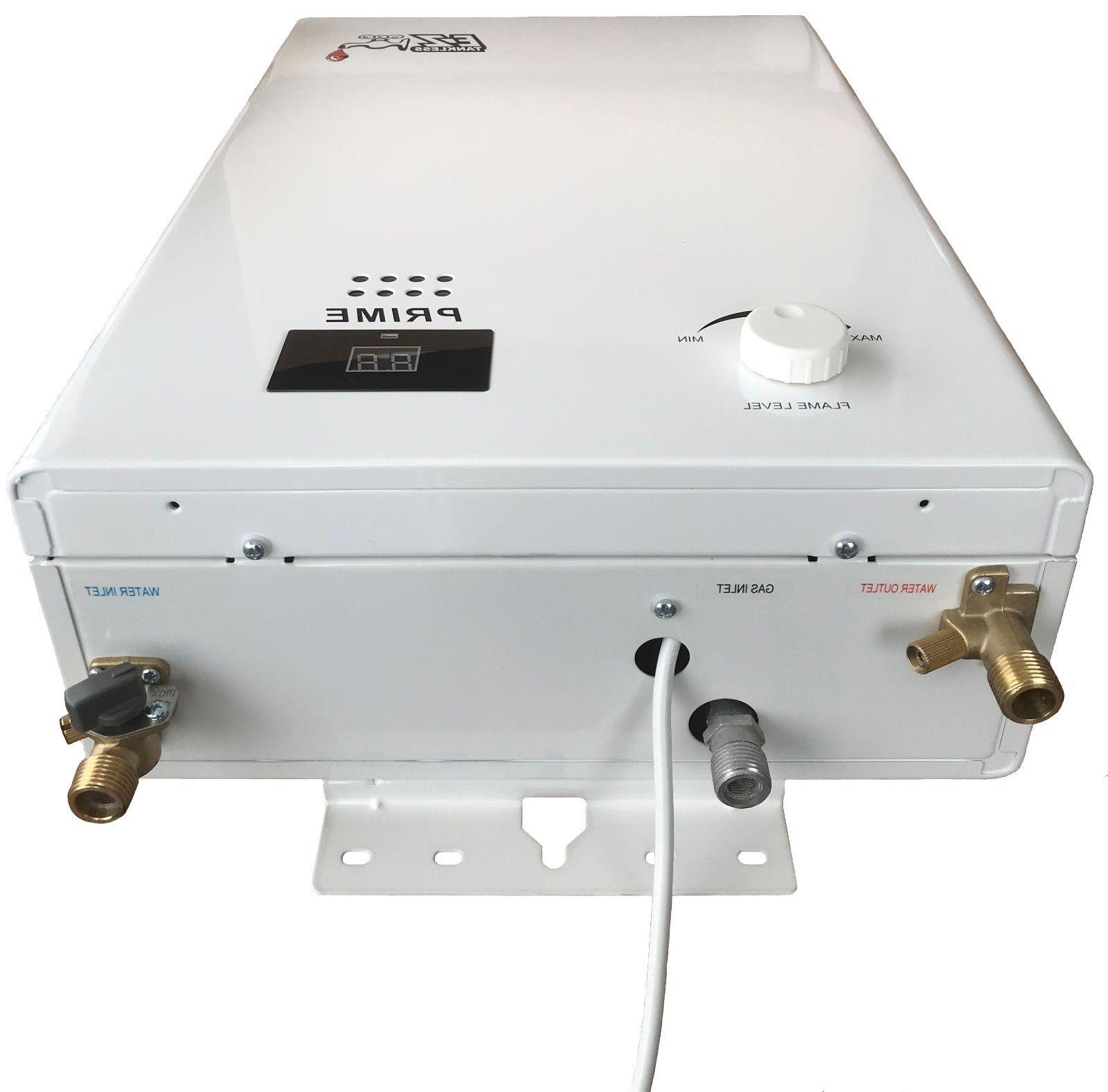 EZ Gas Tankless Water - GPM 110k
