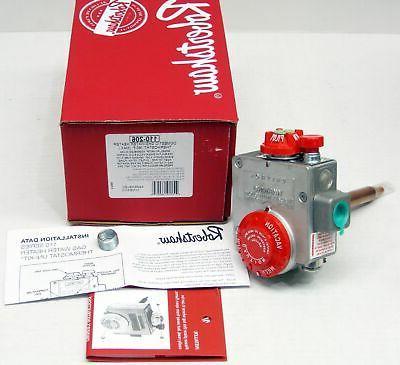 gas water heater thermostat valve