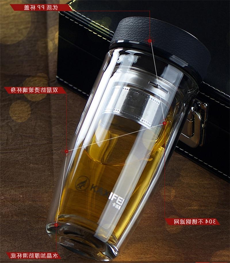 Health Steel Vacuum Insulated Glass Bottle Cup <font><b>Cooler</b></font> Heater Tea <font><b>Thermos</b></font>