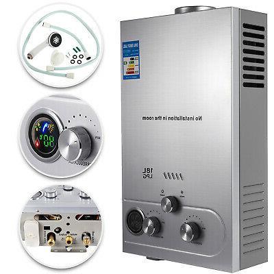 hot water heater propane gas lpg 18l