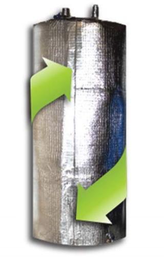 hot water tank heater insulation jacket diy