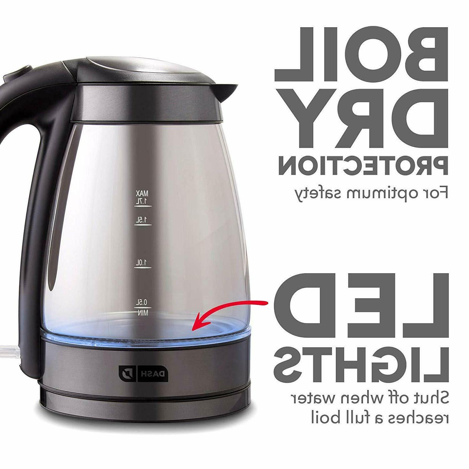 Dash Electric Kettle Water with Boil,