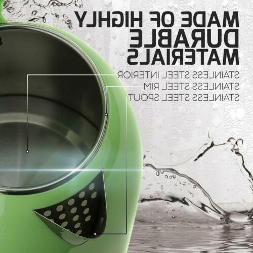 Ovente KD64G Kettle Cordless Water Heater Green