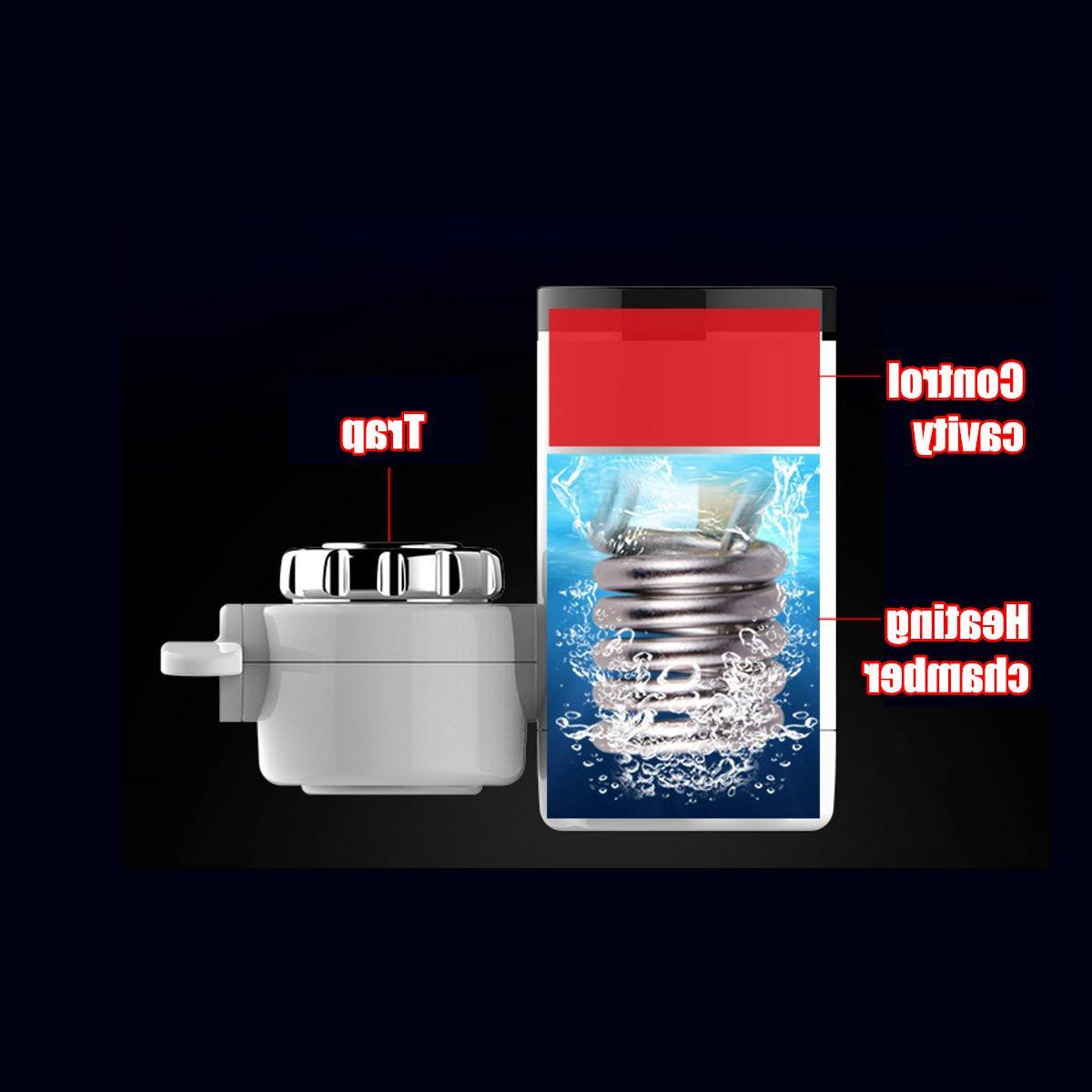 Kitchen Faucet <font><b>Water</b></font> Display Electric <font><b>Water</b></font> <font><b>Heater</b></font> Tankless Heating