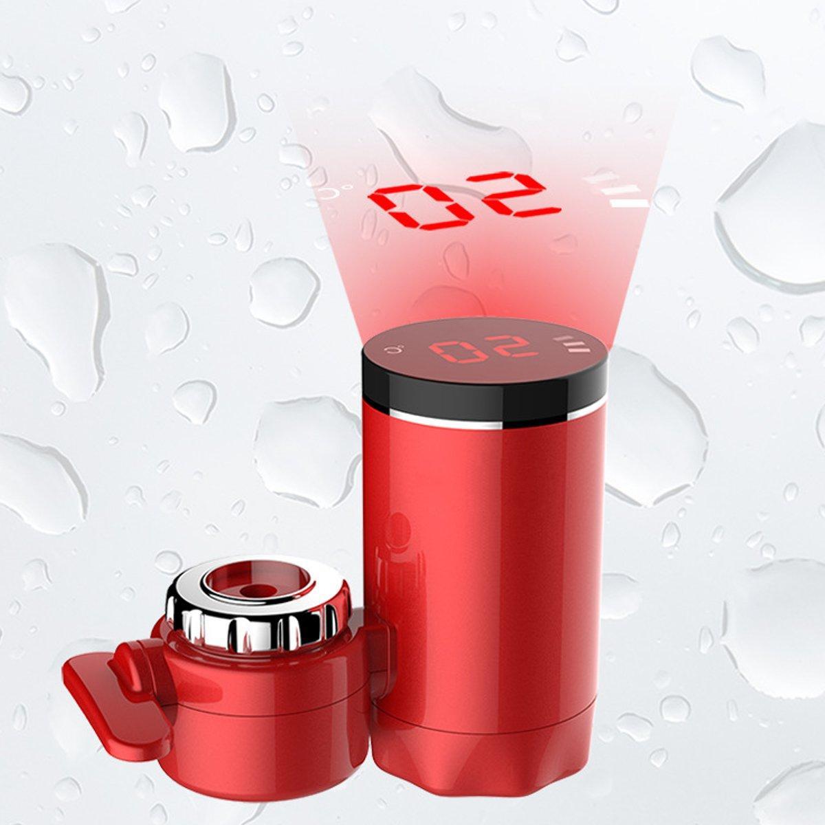 Kitchen Hot <font><b>Water</b></font> 3000W Digital Display Electric Faucet <font><b>Water</b></font> <font><b>Heater</b></font> Fast Heating Tap