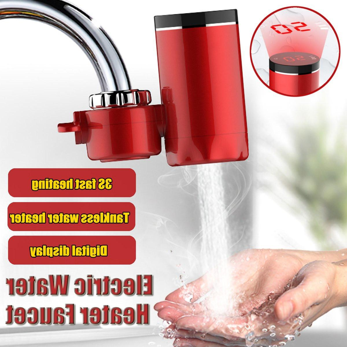 kitchen faucet instant hot font b water