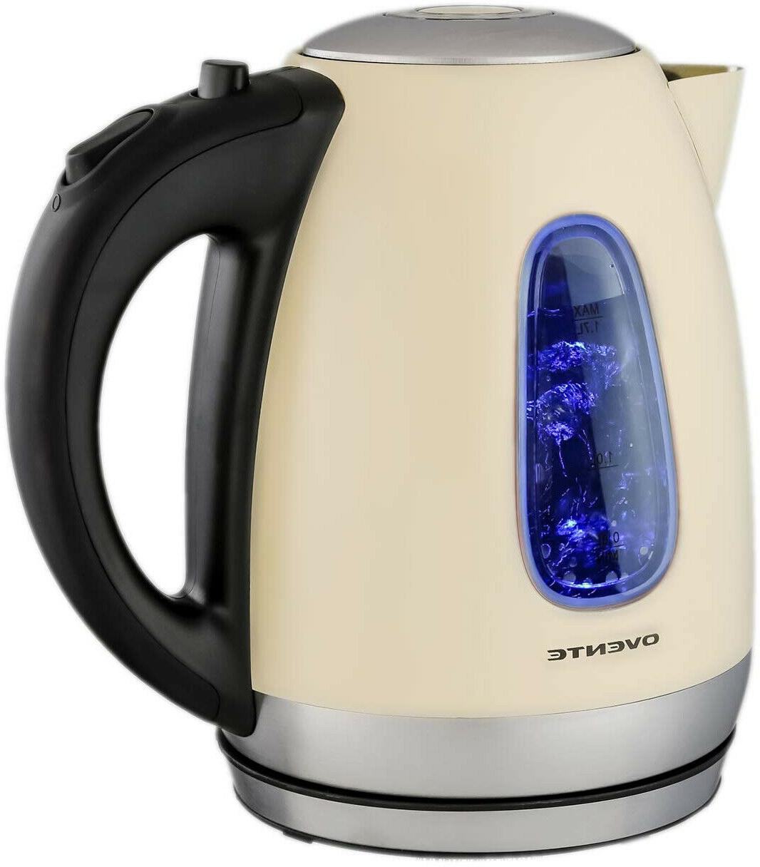Ovente KS960BG Electric Cordless Tea And
