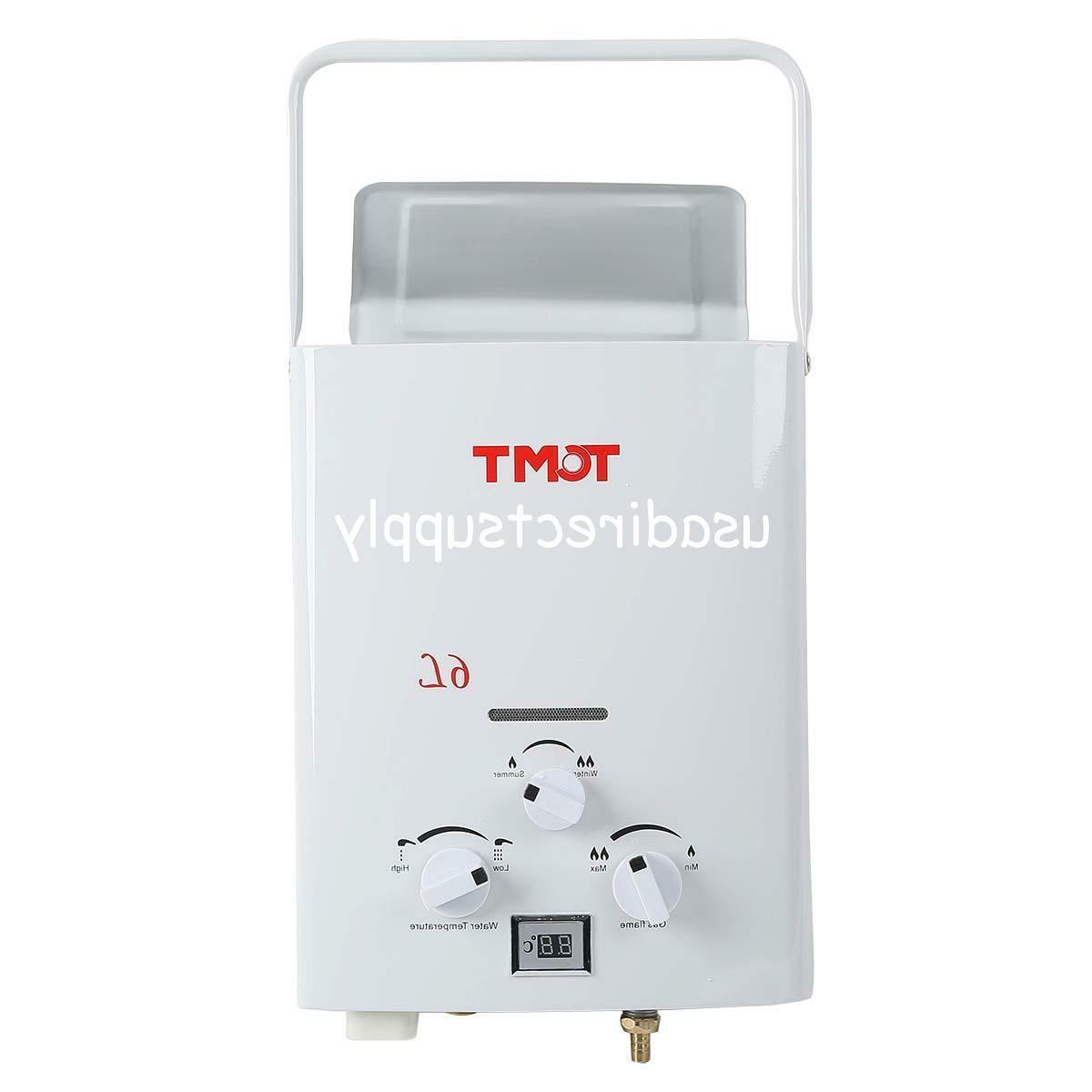 TC-Home Portable 6L 1.6 Propane Tankless Instant Hot Water