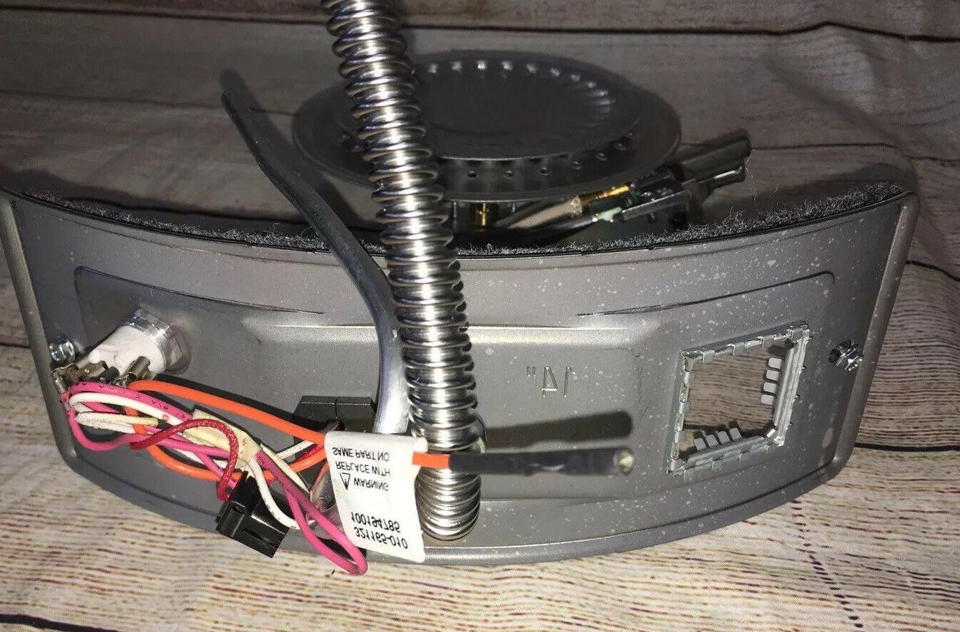 Manifold burner Water Heater