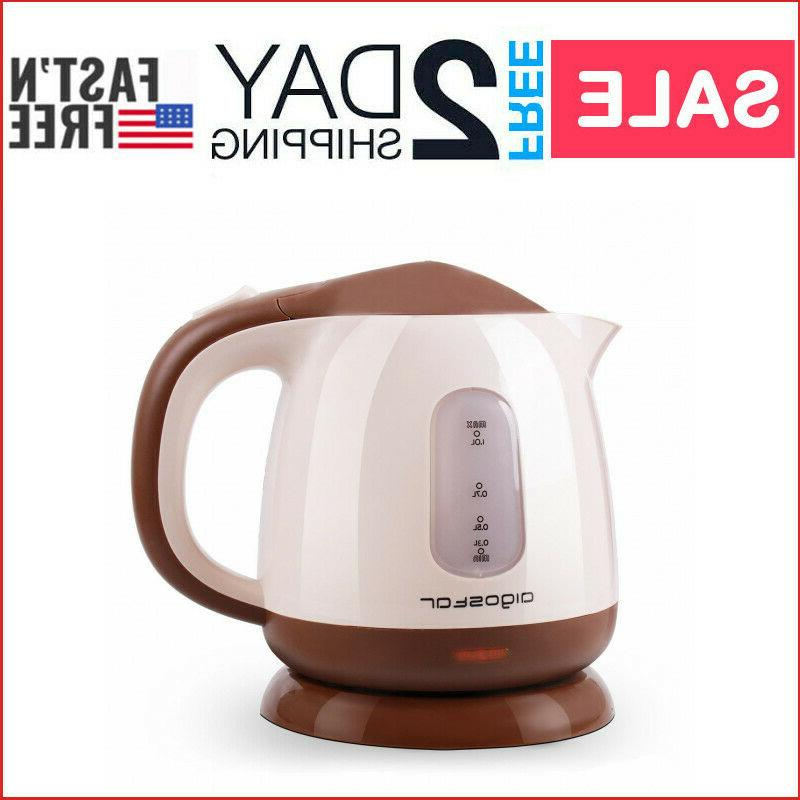 mini electric tea kettle hot water heater