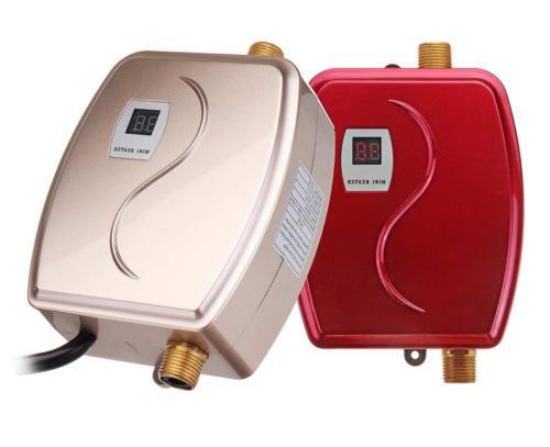 Mini Instant Hot Water Heater Shower Kitchen Bathroom 110V USA