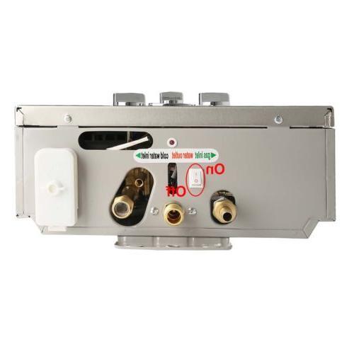 Natural Gas 4.2 GPM Digital Tankless 16L/min Water Heater
