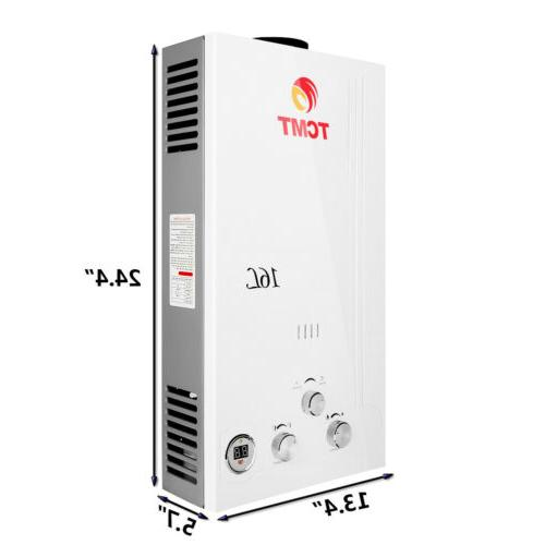 Natural GPM Digital Tankless Water