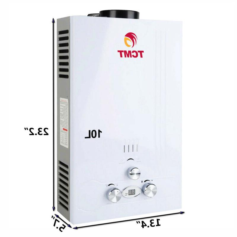 New 6/8/10/12/18L Instant Boiler Tankless Home Hot Water Heater