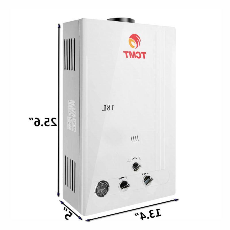 New 6/8/10/12/18L Instant Boiler Propane Home Hot Heater