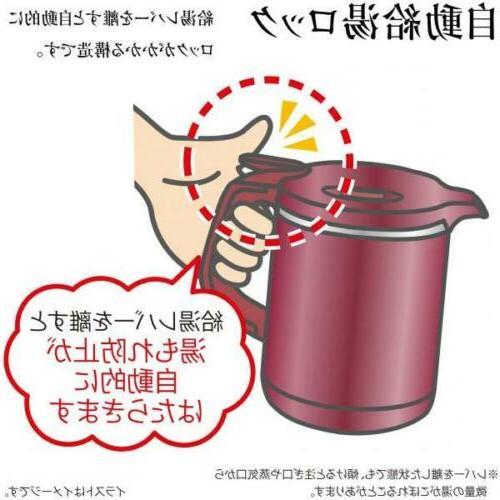 New Zojirushi kettle White CK-AH08-WA F/S Japan