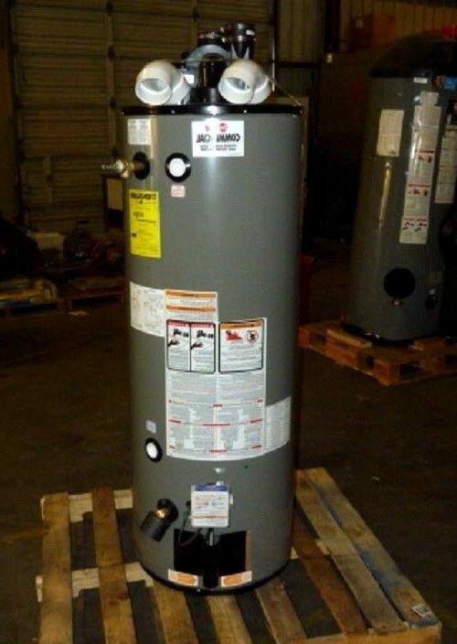 new rheem ruud natural gas water heater
