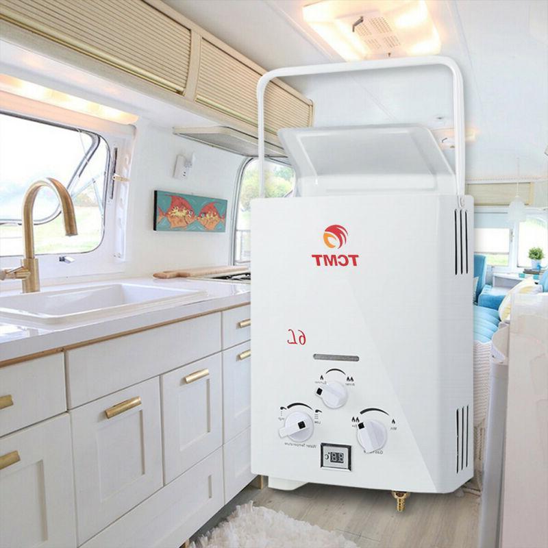 portable lpg propane gas hot water heater