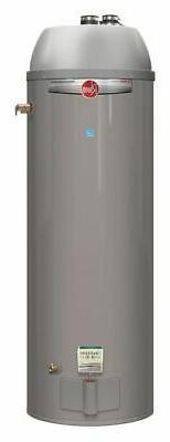 Rheem 50 gal. Residential Gas Water Heater, NG, 40000 BtuH,