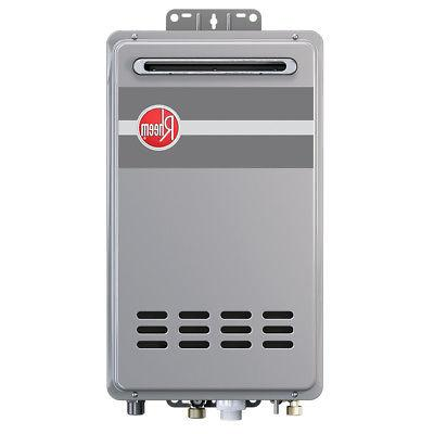 Rheem RTG-84XLN Outdoor Tankless Natural Gas Water Heater fo